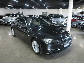 2016 BMW 5 Series F10 LCI 520d Steptronic Luxury Line Grey 8 Speed Sports Automatic Sedan.