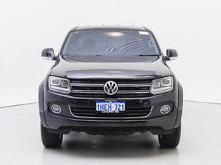 2016 Volkswagen Amarok 2H MY16 TDI420 Highline (4x4) Black 8 Speed Automatic Dual Cab Utility.