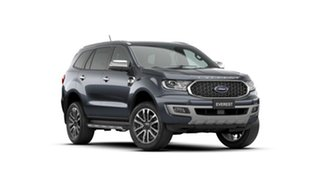 2021 Ford Everest UA II 2021.25MY Titanium Meteor Grey 10 Speed Sports Automatic SUV