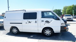 2008 Mitsubishi Express SJ MY09 Window Van SWB White 5 Speed Manual Van