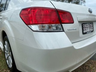 2010 Subaru Liberty B5 MY11 2.5i Lineartronic AWD White 6 Speed Constant Variable Sedan