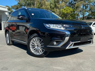 2020 Mitsubishi Outlander ZL MY20 PHEV AWD ES ADAS Ruby Black 1 Speed Automatic Wagon Hybrid