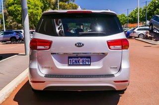 2018 Kia Carnival YP MY18 SLi Silver 6 Speed Sports Automatic Wagon