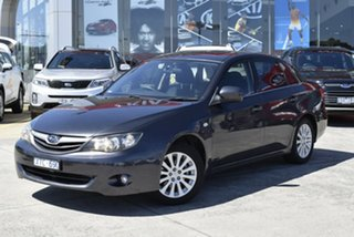 2009 Subaru Impreza G3 MY09 RX AWD Grey 5 Speed Manual Sedan.