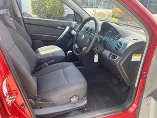 2009 Holden Barina TK MY09 Red 4 Speed Automatic Sedan