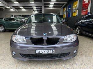 2004 BMW 120i E87 120i Sparkling Graphite Automatic Hatchback.