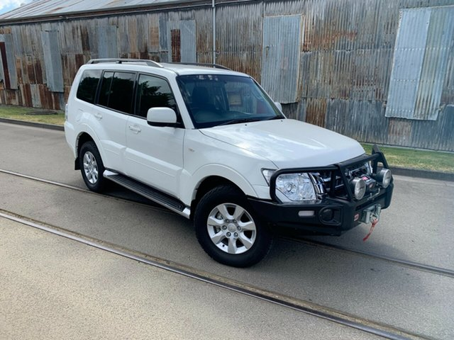 Used Mitsubishi Pajero NX MY17 GLX Launceston, 2017 Mitsubishi Pajero NX MY17 GLX White 5 Speed Sports Automatic Wagon