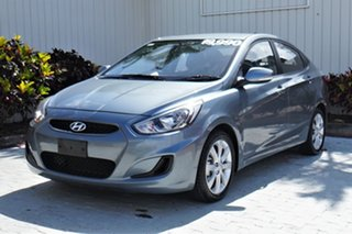2018 Hyundai Accent RB6 MY18 Sport Grey 6 Speed Sports Automatic Sedan
