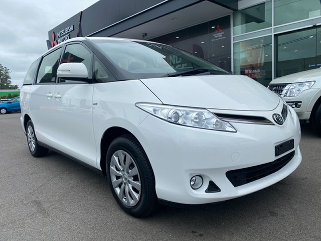 Used Toyota Tarago ACR50R MY13 GLi Cardiff, 2015 Toyota Tarago ACR50R MY13 GLi White 7 Speed Constant Variable Wagon