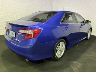 2012 Toyota Camry ASV50R Atara SX Blue 6 Speed Sports Automatic Sedan