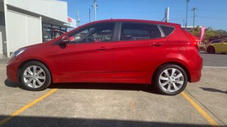 2018 Hyundai Accent RB6 MY19 Sport Pulse Red 6 Speed Sports Automatic Hatchback