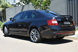 2014 Skoda Octavia NE MY15 RS Sedan DSG 162TSI Black 6 Speed Sports Automatic Dual Clutch Liftback.
