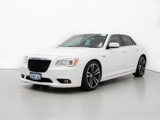 2014 Chrysler 300 SRT8 Core White 5 Speed Automatic Sedan.