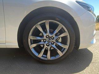 2017 Mazda 6 GL Series GT White Sports Automatic Sedan