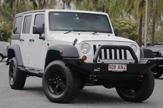 2012 Jeep Wrangler JK MY2012 Unlimited Sport White 5 Speed Automatic Softtop.