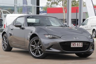 2018 Mazda MX-5 ND GT SKYACTIV-Drive Machine Grey 6 Speed Sports Automatic Roadster.