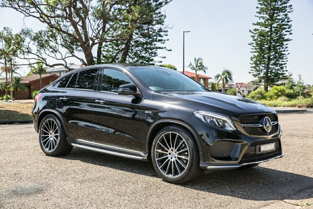 Used Mercedes-Benz GLE-Class C292 807MY GLE43 AMG Coupe 9G-Tronic 4MATIC Port Macquarie, 2016 Mercedes-Benz GLE-Class C292 807MY GLE43 AMG Coupe 9G-Tronic 4MATIC Black 9 Speed