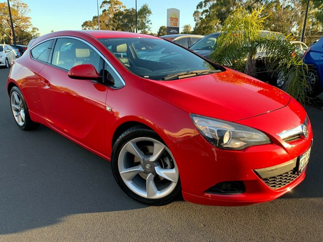 Used Holden Astra PJ MY15.5 GTC Sport Bunbury, 2015 Holden Astra PJ MY15.5 GTC Sport Red 6 Speed Automatic Hatchback