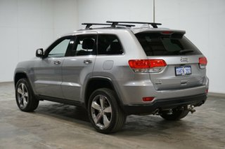 2015 Jeep Grand Cherokee WK MY15 Limited Billet Silver 8 Speed Sports Automatic Wagon.
