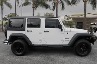 2012 Jeep Wrangler JK MY2012 Unlimited Sport White 5 Speed Automatic Softtop