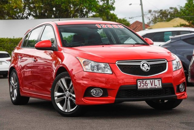 Used Holden Cruze JH Series II MY16 SRI Z-Series Mount Gravatt, 2015 Holden Cruze JH Series II MY16 SRI Z-Series Red Hot 6 Speed Sports Automatic Hatchback