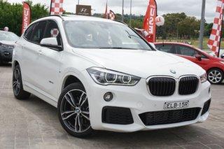 2016 BMW X1 F48 xDrive25i Steptronic AWD White 8 Speed Sports Automatic Wagon.