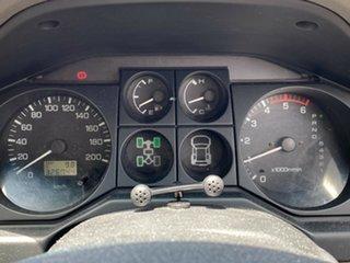 2003 Mitsubishi Pajero NP Exceed 5 Speed Sports Automatic Wagon