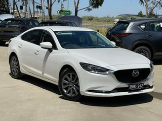 2020 Mazda 6 GL1033 Sport SKYACTIV-Drive Snowflake White Pearl 6 Speed Sports Automatic Sedan.