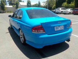 2006 Ford Falcon BF XR6T Blue 6 Speed Auto Seq Sportshift Sedan