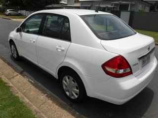 2008 Nissan Tiida C11 ST White 5 Speed Automatic Sedan