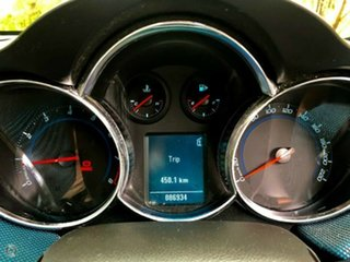 2011 Holden Cruze JH Series II MY12 SRi Karma Blue/blue 6 Speed Manual Sedan