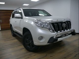 2015 Toyota Landcruiser Prado KDJ150R MY15 Altitude (4x4) Crystal Pearl 5 Speed Sequential Auto.
