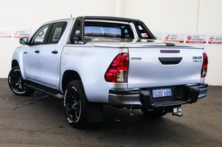 2018 Toyota Hilux GUN126R Rogue Double Cab Silver Sky 6 Speed Sports Automatic Utility