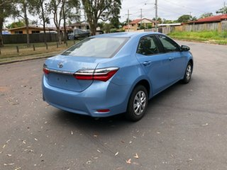 2018 Toyota Corolla ZRE172R MY17 Ascent Blue 7 Speed CVT Auto Sequential Sedan.