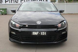 2013 Volkswagen Scirocco 1S MY13.5 R Coupe Black 6 Speed Manual Hatchback.