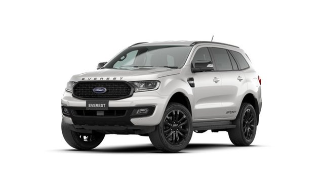 New Ford Everest UA II 2021.75MY Sport Oakleigh, 2021 Ford Everest UA II 2021.75MY Sport White 6 Speed Sports Automatic SUV
