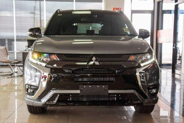 New Mitsubishi Outlander ZL MY21 PHEV AWD GSR Mount Gravatt, 2020 Mitsubishi Outlander ZL MY21 PHEV AWD GSR Titanium 1 Speed Automatic Wagon Hybrid