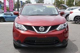 2015 Nissan Qashqai J11 ST Red 6 Speed Manual Wagon.