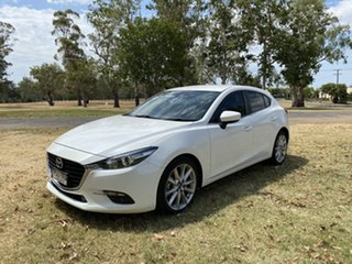 2016 Mazda 3 BN5438 SP25 SKYACTIV-Drive Crystal Pearl 6 Speed Sports Automatic Hatchback.