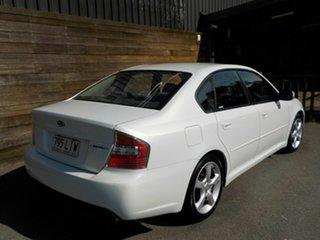 2006 Subaru Liberty B4 MY06 Safety Pack AWD White 4 Speed Sports Automatic Sedan.