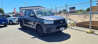 2019 Toyota Hilux TGN121R MY19 Workmate Graphite 5 Speed Manual Dual Cab
