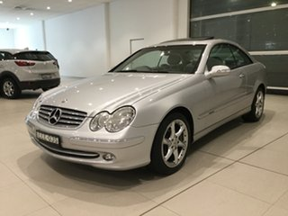 2003 Mercedes-Benz CLK-Class C209 CLK500 Elegance Silver 5 Speed Automatic Coupe