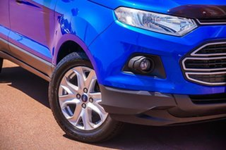 2014 Ford Ecosport BK Trend PwrShift Blue 6 Speed Sports Automatic Dual Clutch Wagon