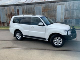 2017 Mitsubishi Pajero NX MY17 GLX White 5 Speed Sports Automatic Wagon