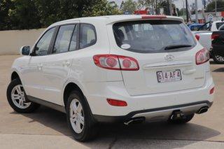 2011 Hyundai Santa Fe CM MY12 SLX White 6 Speed Sports Automatic Wagon.