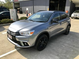 2019 Mitsubishi ASX XC MY19 Black Edition 2WD Grey 1 Speed Constant Variable Wagon