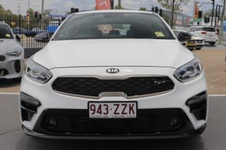 2020 Kia Cerato BD MY21 GT DCT Clear White 7 Speed Sports Automatic Dual Clutch Hatchback