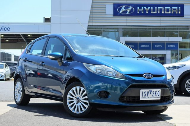 Used Ford Fiesta WT LX South Melbourne, 2012 Ford Fiesta WT LX Blue 5 Speed Manual Hatchback