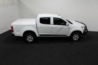 2016 Holden Colorado RG MY16 LS Crew Cab 4x2 Summit White 6 Speed Sports Automatic Utility