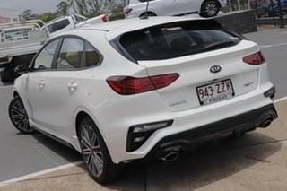 2020 Kia Cerato BD MY21 GT DCT Clear White 7 Speed Sports Automatic Dual Clutch Hatchback.